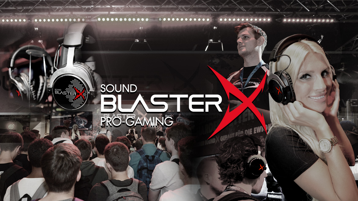 Sound BlasterX Launch @ gamescom 2015