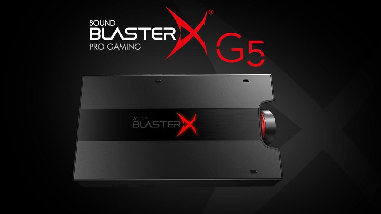 Unleashing Sound BlasterX G5 : 7.1 HD External Sound Card & Headphone Amplifier